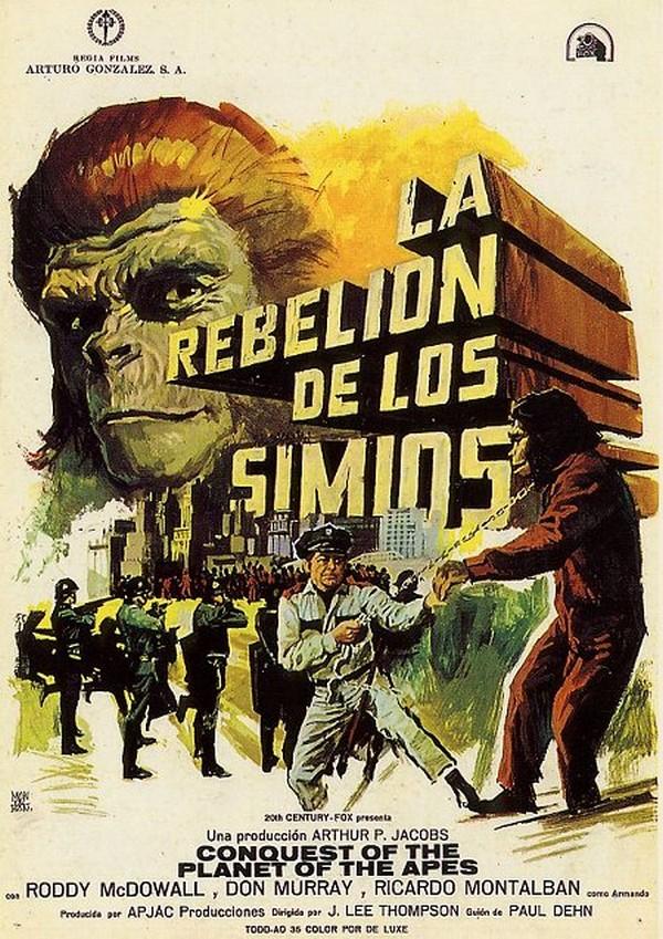 La Conquista Del Planeta De Los Simios (1972) [DVDRip] [Latino] [1 Link] [MEGA]