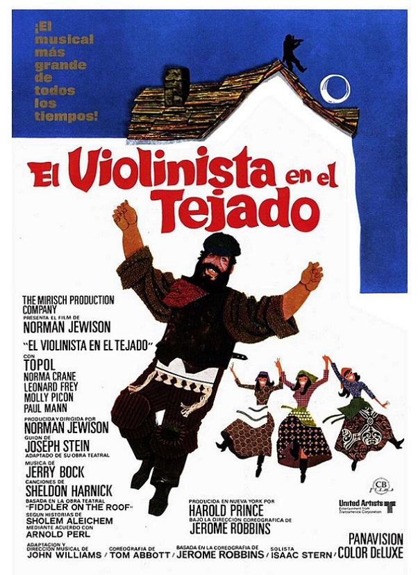 Cartel de El violinista en el tejado - Poster 1 - SensaCine.com