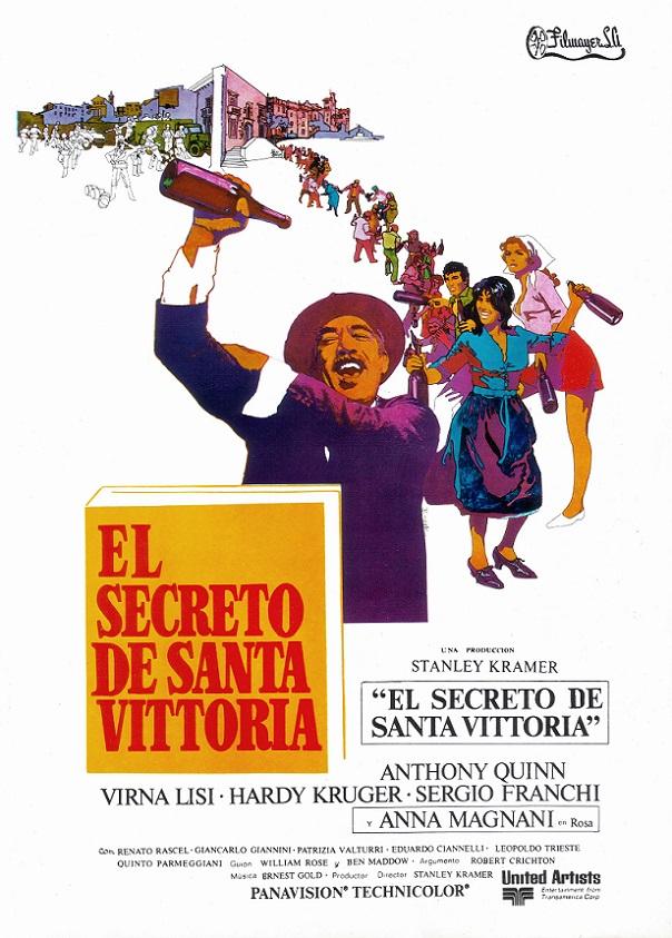 El secreto de santa vittoria pel cula 1969 for Banda sonora de el jardin secreto