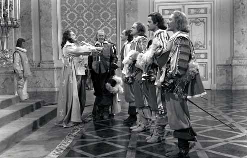 Los tres mosqueteros : Foto Frank Morgan, Gene Kelly, George Sidney, Gig Young, Robert Coote