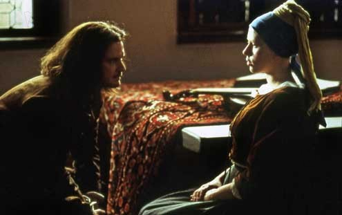 La joven de la perla : Foto Colin Firth, Peter Webber, Scarlett Johansson