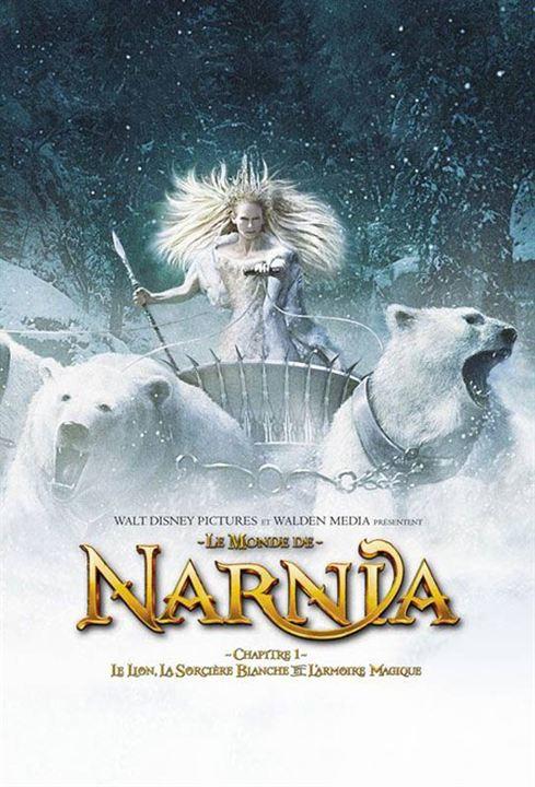 Las crónicas de Narnia: El león, la bruja y el armario : Cartel Andrew Adamson, Tilda Swinton