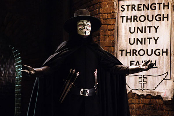 V de Vendetta : Foto Hugo Weaving