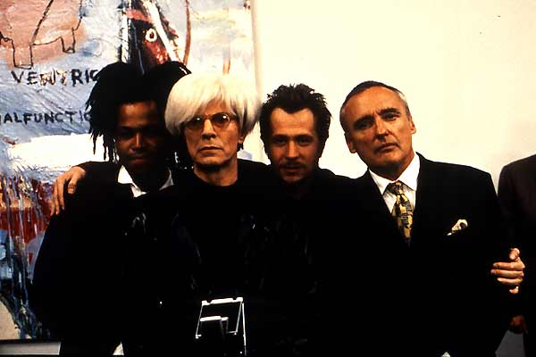 Basquiat : Foto David Bowie, Dennis Hopper, Gary Oldman, Jeffrey Wright