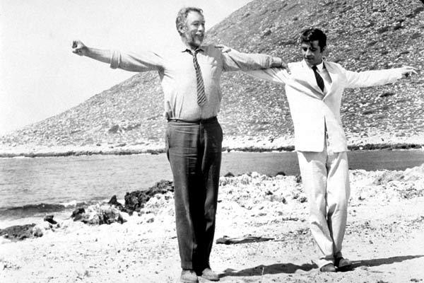 Zorba el griego : Foto Alan Bates, Anthony Quinn, Michael Cacoyannis