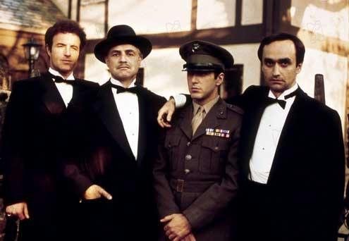 El padrino : Foto Al Pacino, James Caan, John Cazale, Marlon Brando