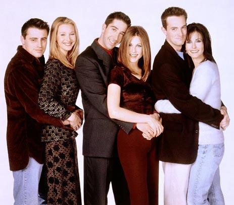 Friends : Foto Courteney Cox, David Schwimmer, Jennifer Aniston, Lisa Kudrow, Matt LeBlanc