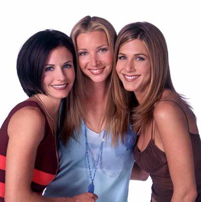 Friends : Foto Courteney Cox, Jennifer Aniston, Lisa Kudrow