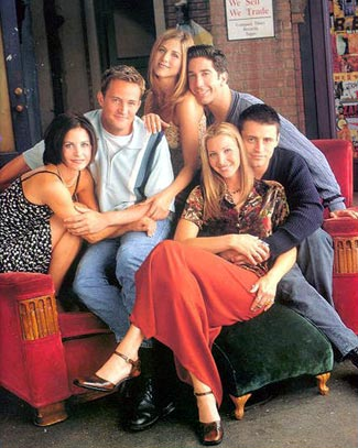 Friends : Foto Courteney Cox, David Schwimmer, Jennifer Aniston, Matt LeBlanc, Matthew Perry