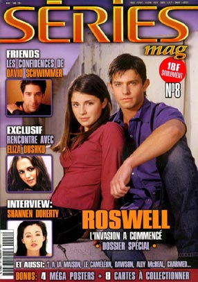 Roswell : Couverture magazine Jason Behr