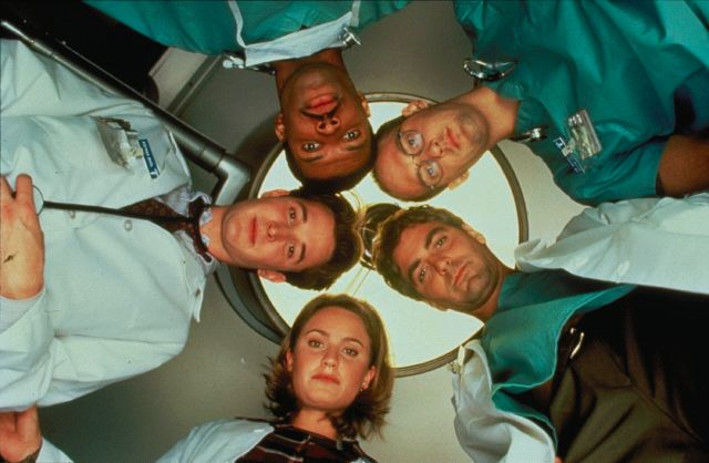 Urgencias : Foto Anthony Edwards, Eriq La Salle, George Clooney, Noah Wyle, Sherry Stringfield