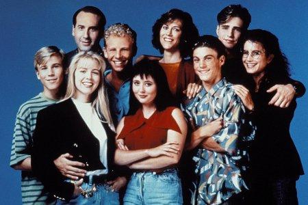 Sensacion de vivir. Beverly Hills, 90210 : Foto Brian Austin Green, Carol Potter, Douglas Emerson, Gabrielle Carteris, Ian Ziering