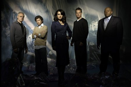 Foto Brent Spiner, Brian Van Holt, Carla Gugino, Charles S. Dutton, Rob Benedict