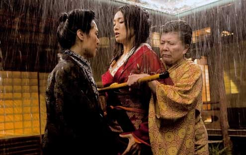Personajes de memorias de una geisha