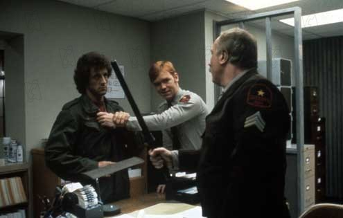 Acorralado : Foto David Caruso, Sylvester Stallone