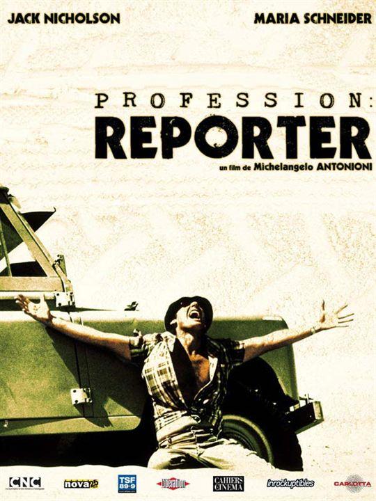 El reportero : Cartel Jack Nicholson, Michelangelo Antonioni