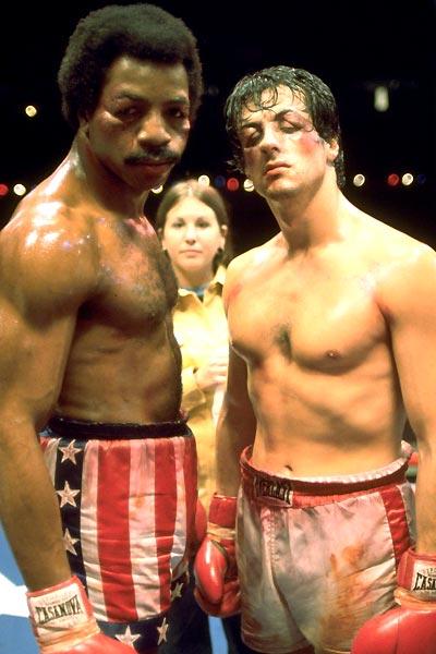 Rocky : Foto Carl Weathers, John G. Avildsen, Sylvester Stallone