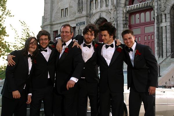 C.R.A.Z.Y. : Foto Alex Gravel, Felix-Antoine Despatie, Marc-André Grondin, Maxime Tremblay, Michel Côté
