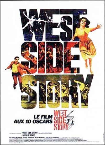 cartel de la pelicula west side story