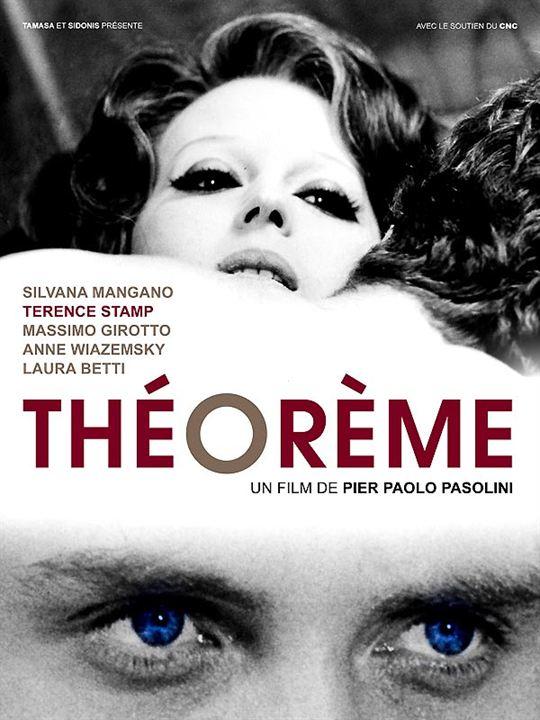 Teorema : Cartel Pier Paolo Pasolini