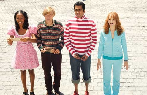 Jayma Mays Adam Campbell Epic Movie