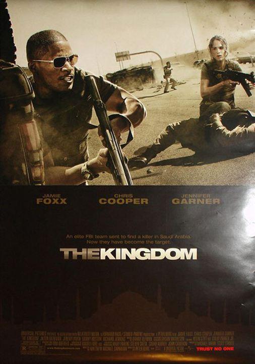 La sombra del reino : Cartel Jamie Foxx, Peter Berg