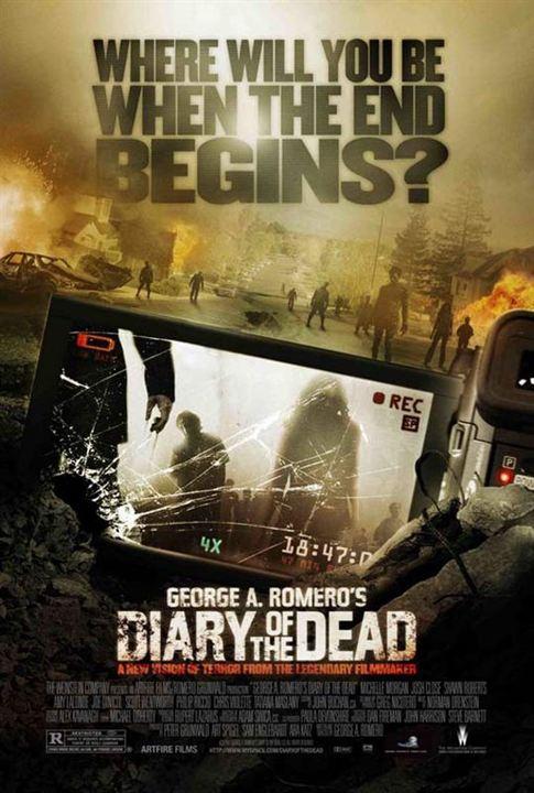 El diario de los muertos : Cartel George A. Romero