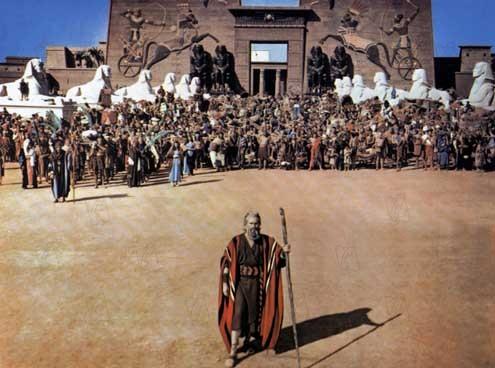 Los Diez Mandamientos : Foto Cecil B. DeMille, Charlton Heston