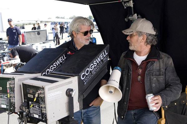 Indiana Jones y el Reino de la Calavera de Cristal : Foto George Lucas, Steven Spielberg