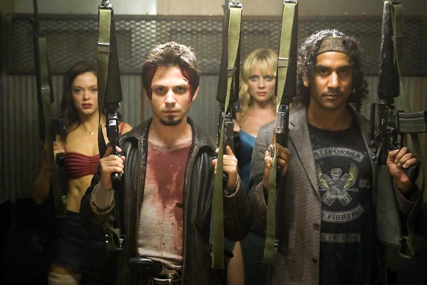 Grind House: Planet Terror : Foto Freddy Rodriguez, Marley Shelton, Naveen Andrews, Rose McGowan