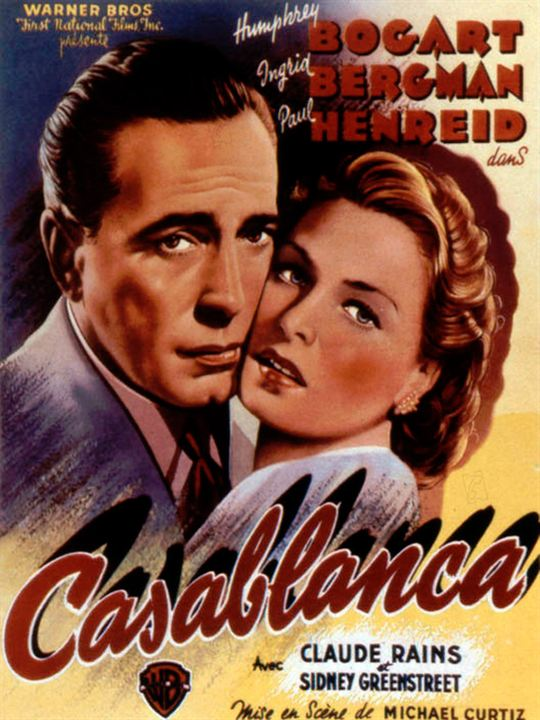 Casablanca : Cartel