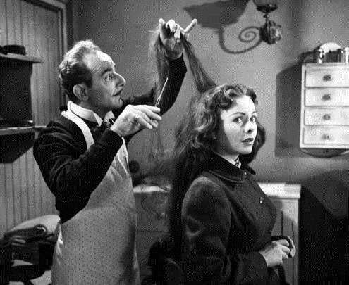 Foto Fritz Feld, Henry Hathaway, Jeanne Crain