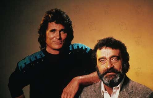 Foto Michael Landon, Victor French
