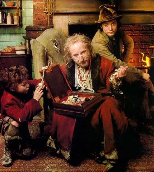 Oliver Twist : Foto Elijah Wood, Richard Dreyfuss, Tony Bill