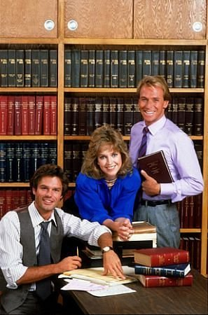 La Ley de Los Ángeles : Foto Corbin Bernsen, Harry Hamlin, Jill Eikenberry