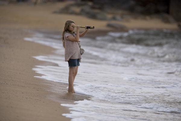 La isla de Nim : Foto Abigail Breslin, Jennifer Flackett, Mark Levin