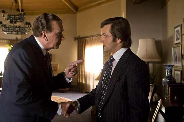El desafío: Frost contra Nixon : Foto Frank Langella, Michael Sheen, Ron Howard