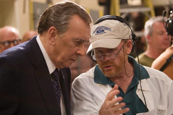 El desafío: Frost contra Nixon : Foto Frank Langella, Ron Howard