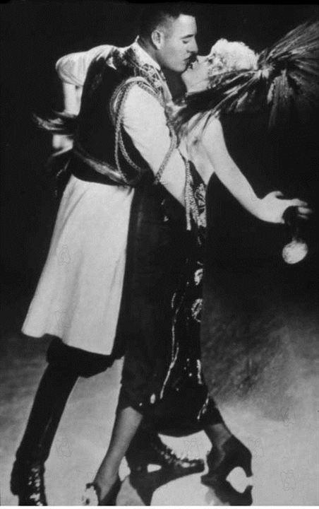 Foto Erich Von Stroheim, John Gilbert, Mae Murray