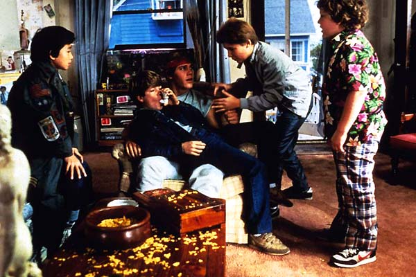 Los Goonies : Foto Corey Feldman, Jeff Cohen, Jonathan Ke Quan, Sean Astin