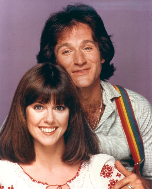 Foto Pam Dawber, Robin Williams