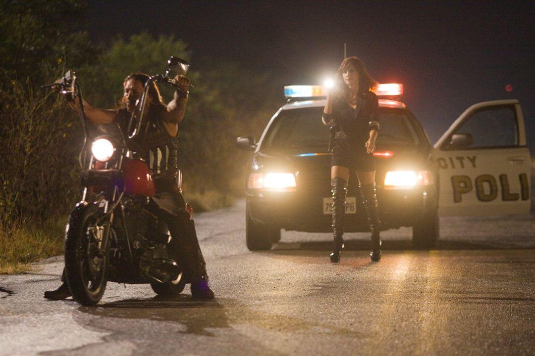 Machete : Foto Danny Trejo, Ethan Maniquis, Jessica Alba