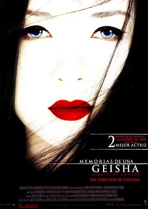 Memorias de una geisha : Cartel