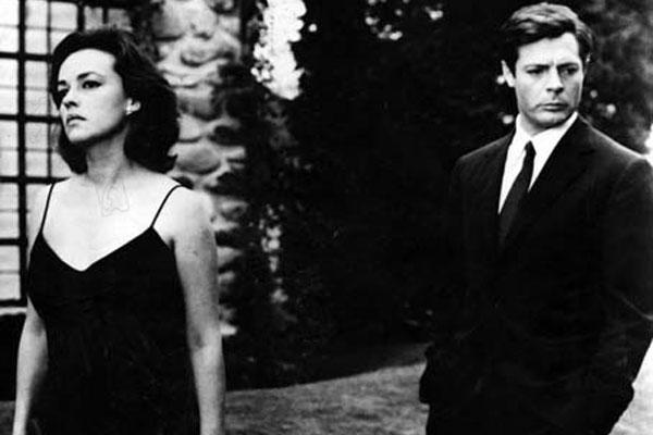 La noche : Foto Jeanne Moreau, Marcello Mastroianni, Michelangelo Antonioni