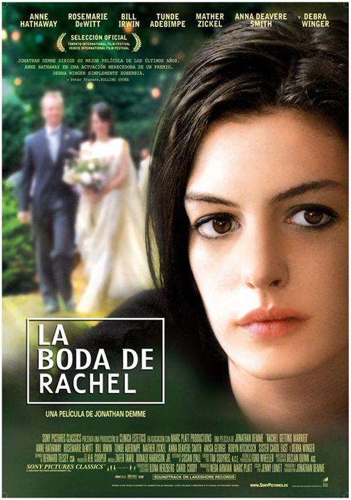 La boda de Rachel : Cartel