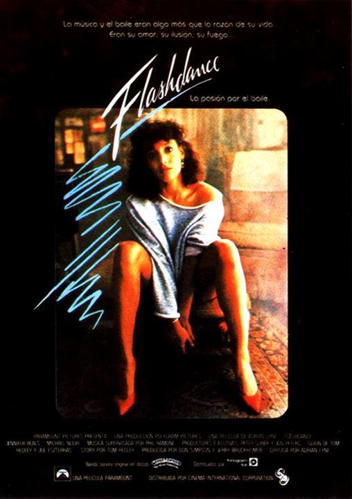 Cartel De Flashdance Poster 1 Sensacine Com
