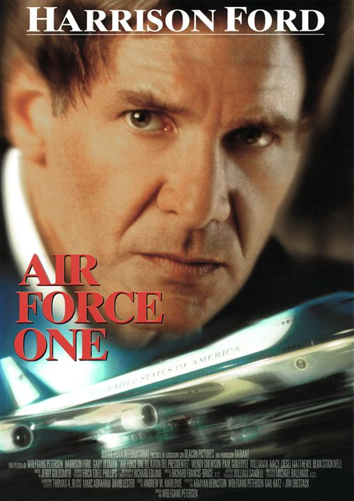Air force one (el avión del presidente) : Cartel