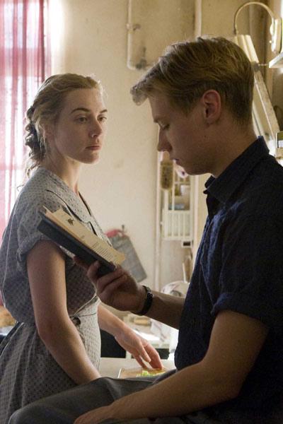 The Reader (El lector): Kate Winslet, David Kross