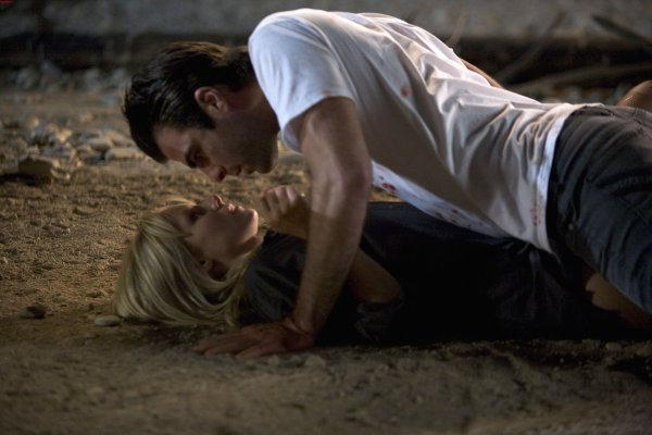 Héroes : Foto Kristen Bell, Zachary Quinto