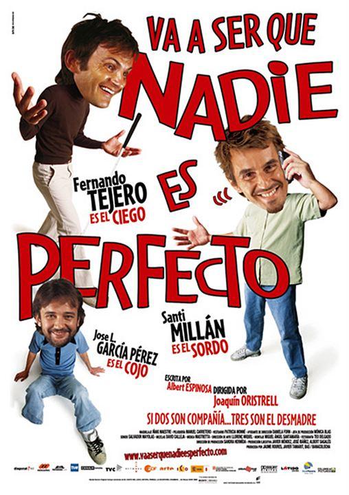 Va a ser que nadie es perfecto : Cartel